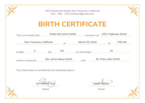 005 Official Birth Certificateplate Or Full Uk With Texas throughout Editable Birth Certificate Template