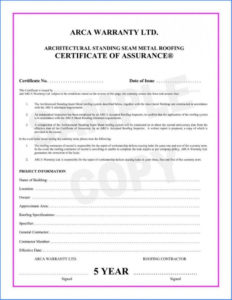 038 Template Ideas Certificate Of Final Completion Form For pertaining to Certificate Of Inspection Template