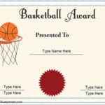 10 Basketball Sports Certificates | Certificate Templates Intended For Best 7 Basketball Achievement Certificate Editable Templates