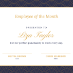 10+ Certificate Design Templates And Ideas To Get Inspired By Inside Employee Certificate Template Free 10 Best Designs