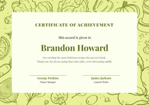 10+ Certificate Design Templates And Ideas To Get Inspired By intended for Quality Farewell Certificate Template