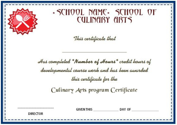 10 Cook Certificate Templates: Appreciate Culinary/Baking with Cooking Competition Certificate Templates