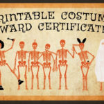 10 Free Costume Award Certificates! [Printables Intended For Best Costume Certificate Printable Free 9 Awards