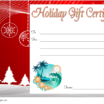 10+ Holiday Gift Certificate Template Free Ideas In Quality Holiday Gift Certificate Template Free 10 Designs