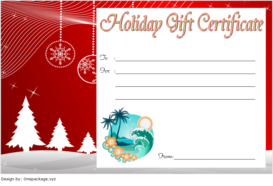 10+ Holiday Gift Certificate Template Free Ideas with Fresh Happy New Year Certificate Template Free 2019 Ideas