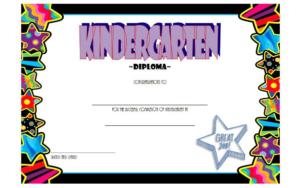 10+ Kindergarten Completion Certificate Printables Free regarding Quality 10 Kindergarten Diploma Certificate Templates Free