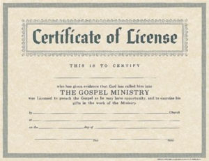 10+ License Certificate Templates | Free Printable Word with Unique Certificate Of License Template