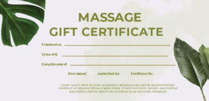 10+ Massage Gift Certificate Template Photoshop | Room Surf in New Massage Gift Certificate Template Free Printable