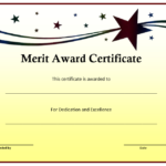 10+ Merit Certificate Templates | Word, Excel & Pdf intended for Quality Merit Certificate Templates Free 10 Award Ideas