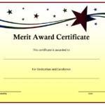 10+ Merit Certificate Templates | Word, Excel & Pdf within Fresh Certificate Of Merit Templates Editable