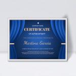 10+ Perfect Curtain Certificate Design Template Collection Regarding Hip Hop Certificate Template 6 Explosive Ideas