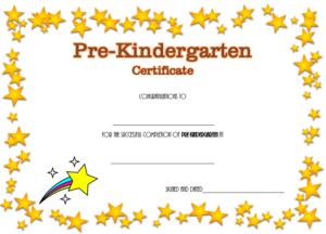 10+ Pre K Diploma Templates Free Download regarding Quality 10 Kindergarten Diploma Certificate Templates Free