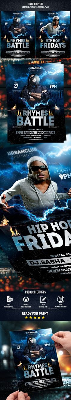 10+ Rap Promo Art Ideas | Rap, Hip Hop, Event Flyer for New Hip Hop Certificate Template 6 Explosive Ideas