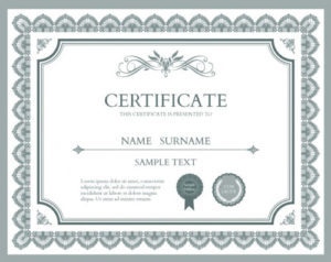 10 Sets Of Free Certificate Design Templates | Designfreebies in Indesign Certificate Template