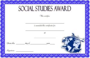10+ Social Studies Certificate Templates Free Download inside New Editable Certificate Social Studies