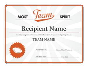 10+ Team Certificate Templates | Free Printable Word & Pdf for Free Teamwork Certificate Templates 10 Team Awards
