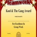 10+ Team Certificate Templates | Free Printable Word & Pdf inside Unique Free Teamwork Certificate Templates 10 Team Awards