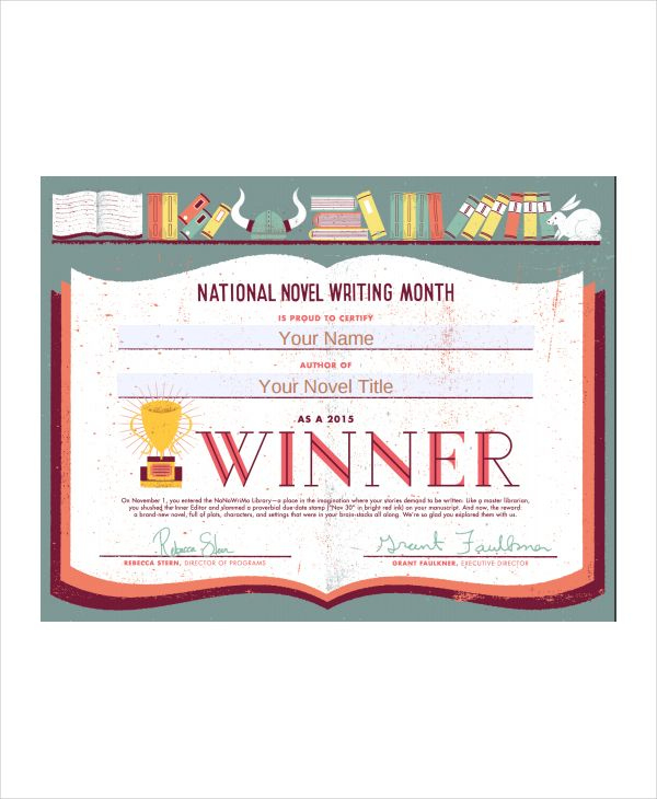 10+ Winner Certificate Templates   Free Printable Word & Pdf within Best Baby Shower Winner Certificate Template 7 Ideas