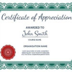 100+ Certificate Of Appreciation Templates To Choose From Intended For New Certificates Of Appreciation Template