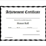 11+ Certificate Of Honor Templates | Free Printable Word With Regard To Fresh Honor Award Certificate Templates