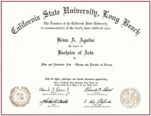 11+ Degree Certificate Templates | Free Printable Word & Pdf in Fake Diploma Certificate Template