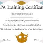 12+ Robotics Certificate Templates For Training Institutes Regarding New Robotics Certificate Template