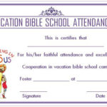 12+ Vbs Certificate Templates For Students Of Bible School Inside Quality Vbs Certificate Template