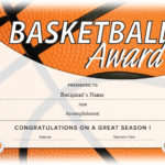 13 Free Sample Basketball Certificate Templates – Printable Pertaining To 7 Basketball Achievement Certificate Editable Templates