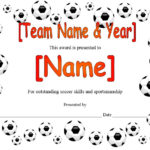 13 Free Sample Soccer Certificate Templates – Printable Samples Inside Soccer Award Certificate Templates Free