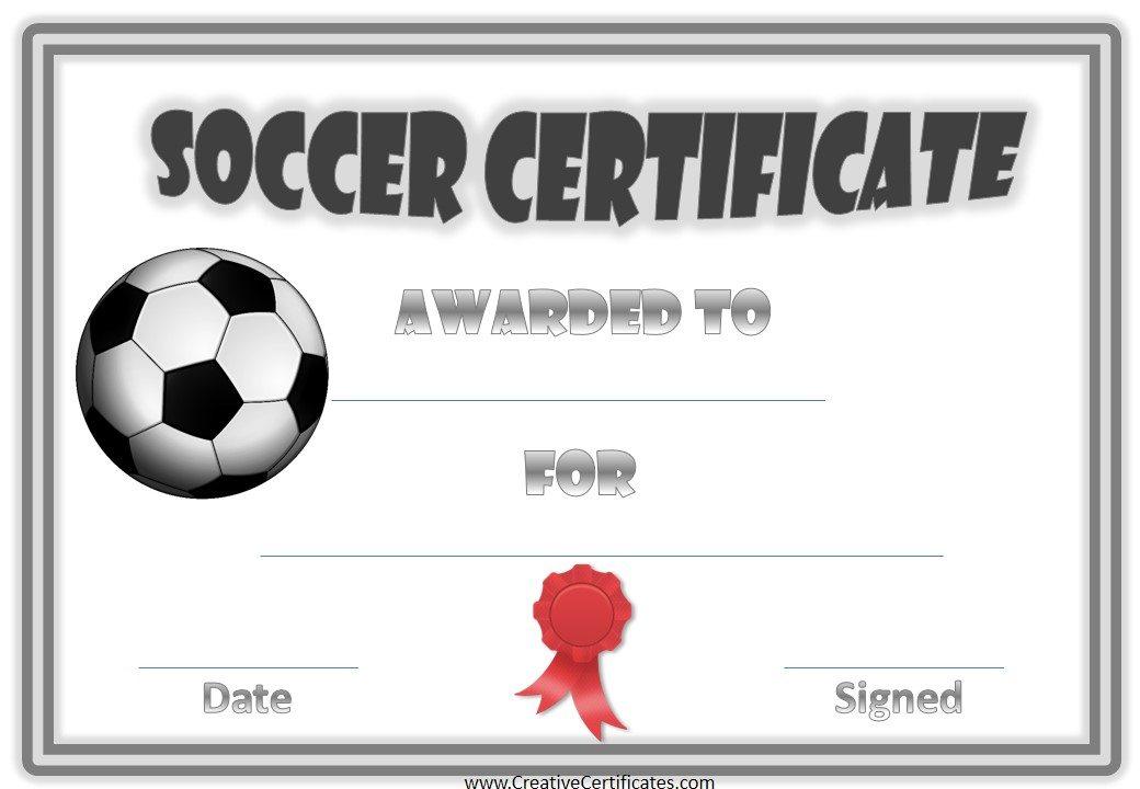 13+ Soccer Award Certificate Examples - Pdf, Psd, Ai for Soccer Award Certificate Templates Free
