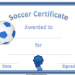 13+ Soccer Award Certificate Examples – Pdf, Psd, Ai Throughout Soccer Certificate Templates For Word