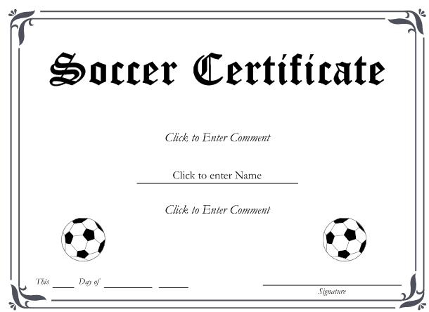 13+ Soccer Award Certificate Examples - Pdf, Psd, Ai within Fresh Soccer Certificate Template Free