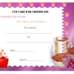 14+ Cake Competition Certificates For Bake Off & Cake Inside Best Bake Off Certificate Templates