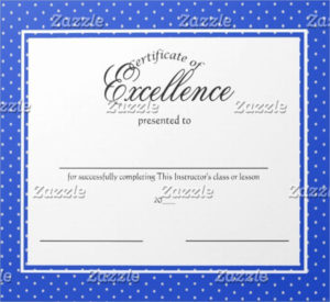 14+ Certificate Of Excellence Templates | Free Printable intended for New Baseball Certificate Template Free 14 Award Designs