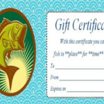 14 Free Printable Fishing Gift Certificate Templates [Best For Best Fishing Gift Certificate Editable Templates