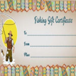 14 Free Printable Fishing Gift Certificate Templates [Best Inside Best Fishing Gift Certificate Editable Templates