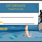 14 Free Printable Fishing Gift Certificate Templates [Best Intended For Fishing Gift Certificate Editable Templates