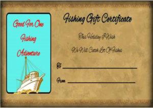 14 Free Printable Fishing Gift Certificate Templates [Best pertaining to Best Fishing Gift Certificate Editable Templates