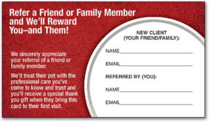 15 Examples Of Referral Card Ideas And Quotes That Work pertaining to Unique Referral Certificate Template
