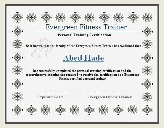 15+ Fitness Certificate Formats | Free Word & Pdf Samples with regard to Unique Physical Fitness Certificate Template Editable