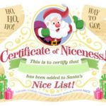 15 Free Printable Letters From Santa Templates – Spaceships Regarding Free 9 Naughty List Certificate Templates