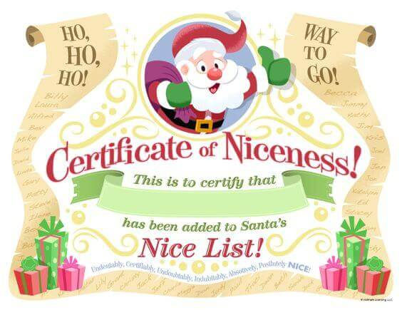 15 Free Printable Letters From Santa Templates - Spaceships Regarding Free 9 Naughty List Certificate Templates