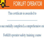 15+Forklift Certification Card Template For Training Pertaining To Best Forklift Certification Template