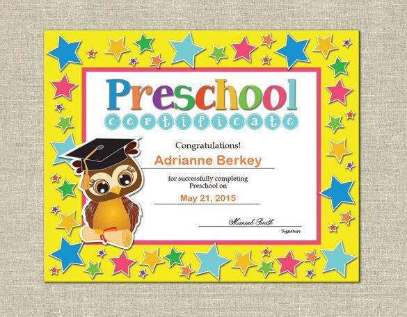 16+ Free Word, Pdf Psd Format Download!   Free & Premium pertaining to New 10 Kindergarten Graduation Certificates To Print Free