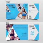 17+ Gym Gift Voucher Templates – Free Photoshop Vector Downloads Inside Free 10 Fitness Gift Certificate Template Ideas