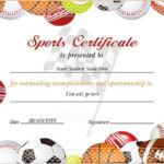 17+ Sports Certificate Templates | Free Printable Word & Pdf In Player Of The Day Certificate Template Free