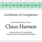 18 Free Certificate Of Completion Templates | Utemplates For Certificate Of Completion Free Template Word