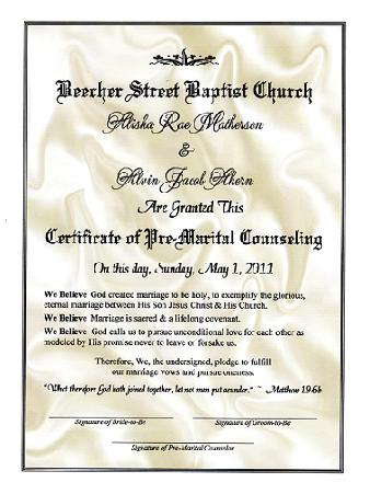 19 Fresh Premarital Counseling Certificate pertaining to Best Premarital Counseling Certificate Of Completion Template
