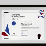 19 Most Creative Certificate Design Templates (Modern Styles within Best Handwriting Certificate Template 10 Catchy Designs