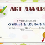 20 Art Certificate Templates (To Reward Immense Talent In Inside Quality Art Award Certificate Template